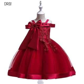 Ready Stock Dress pesta Anak