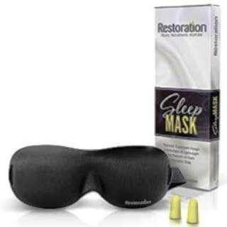 Sleep Restoration Contoured Eye Mask