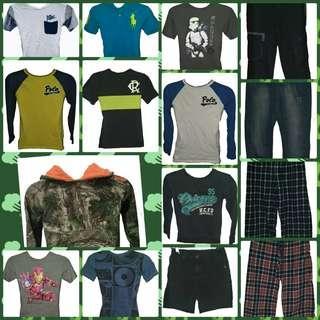 SIZE 8 BOYS CLOTHING BUNDLE