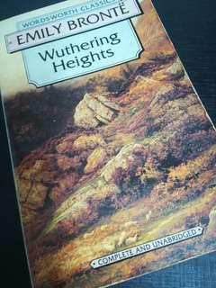 Books - Wuthering Heights - Emily Bronte