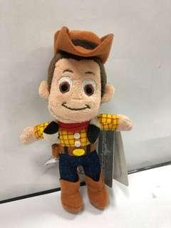 Woody 胡迪匙扣公仔 迪士尼購入