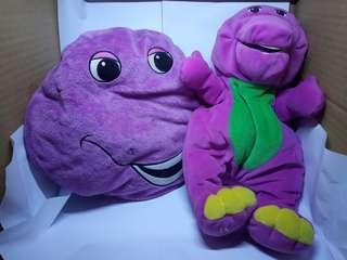 barney stuffed toys