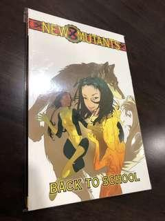 New Mutants Back to School comic TPB