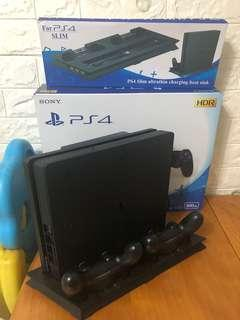Ps4連散熱板 包16隻game