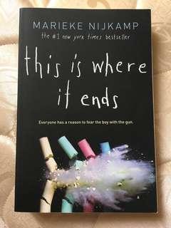 This Is Where It Ends by Marieke Nijkamp