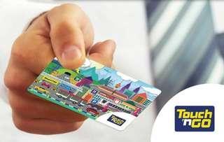 Touchngo card Malaysia Toll RM50
