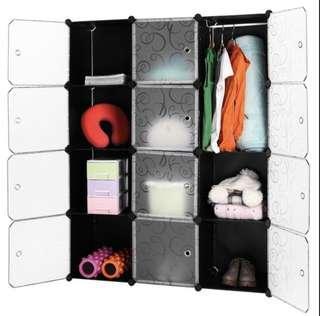 12 Cube Storage Cabinets / Shelves / Wardrobe