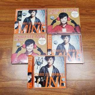 李宇春 Chris Lee 我的 贺岁版 专辑CD