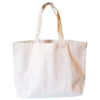🚚 Blank Canvas Carrier Tote Bag