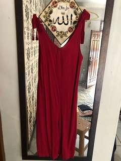 Jumpsuit red colorbox
