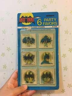 立體貼紙 Batman 蝙蝠俠 古董