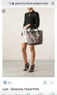 Givency Floral Antitoga tote