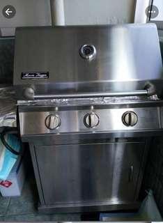 MorrisHagen BBQ pit
