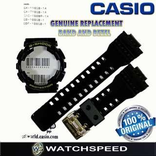 🚚 Genuine Band and Bezel for Casio G-Shock for GA-110GB-1A