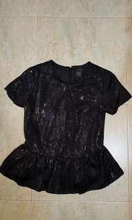 Ladies black blouse