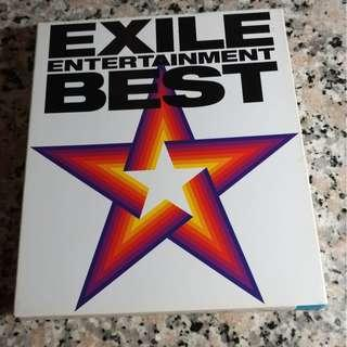 EXILE CD+DVD  EXILE ENTERTAINMENT BEST   台版