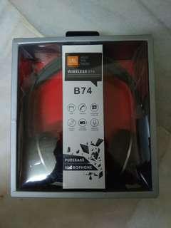 JBL B74 bluetooth headphone