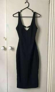 Kookai Midi Dress Size 1 (8 - 10)