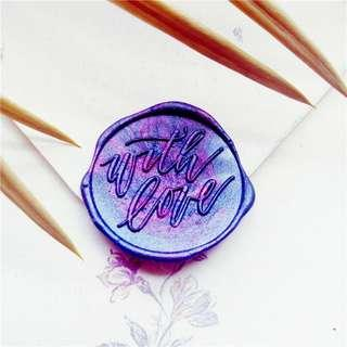 🚚 With Love Wax Seal Stamp (Head Only)