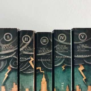 percy jackson and the olympians series