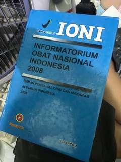 IONI (Informatorium Obat Nasional Indonesia) 2008