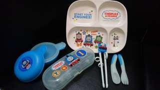 拆盒無用過Thomas兒童餐具