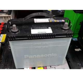 (二手中古電池) 國際牌 60B24L-CMF (55B24L加強) 汽車電池 數值漂亮,品項優