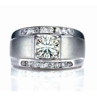 【久大御典品H060417R】天然鑽石戒指 閃閃發光 GIA證