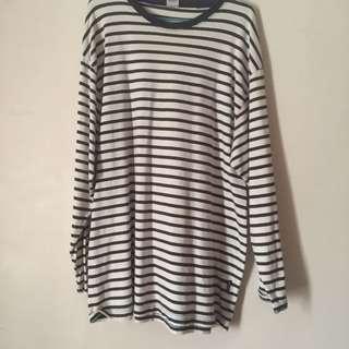 Plus size Stripes shirt