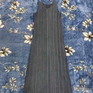Issey Miyake 三宅一生 pp long dress