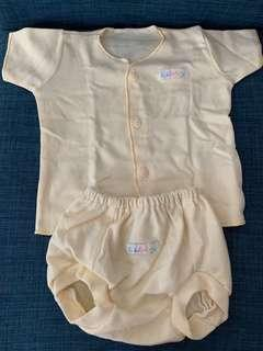 Preloved Baby YELLOW PJ set (3-6 months)