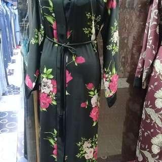 Floral Dubai Abaya