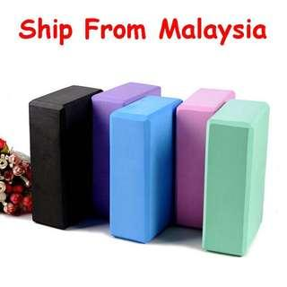 Yoga Block / Yoga Brick EVA Foam Sport Exercise Fitness ~ High Density