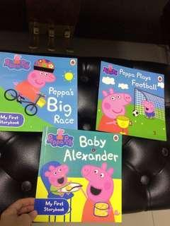 Peppa Pig Story books + mystery free gift