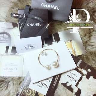 Chanel珍珠耳釘+手厄套裝(vip gift)