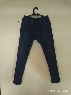 Celana jeans addicted not levis lois wrangler
