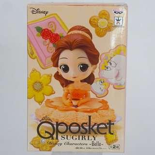 Disney Character - Beauty and The Beast Belle - Sugirly Q Posket Qposket - Kunika Afternoon Tea Series Figure Figurine