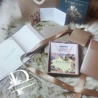 BVLGARI白陶瓷玫瑰金慈善頸鍊(vip gift)