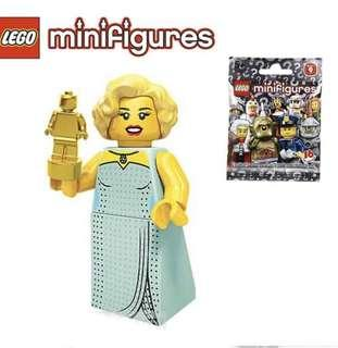 New Lego Minifigures Series 9 - Starlet (Sealed)