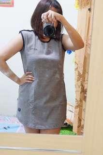 Mini Dress Stripe garis2