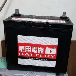 (二手中古電池) 裕隆原廠 GTH60L 46B24L-MFZ免保養汽車電池 數值漂亮,品項優