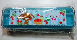 Sario 三麗歐 Sugarbunnies 蜜糖邦尼 甜點兔 雙層 筆盒