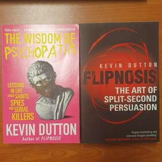 Popular Psychology books by Kevin Dutton