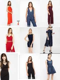 Sell / trade Brand new Osmose / Purpur / Fashmon Romper Jumpsuit 2 for $35