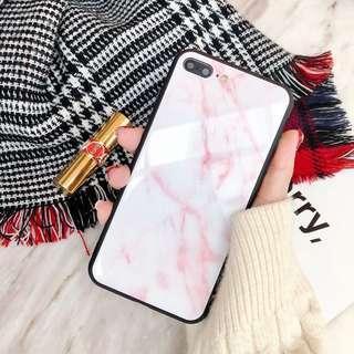 iPhone 8 Marble Casing (Plastic)