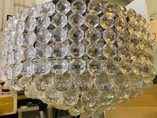 Hanging crystals lights, living hall lights, Decorations,