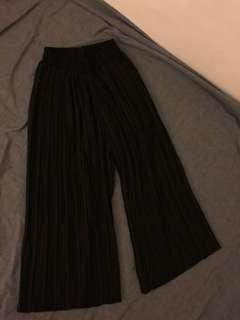 🚚 百摺造型長寬褲