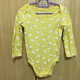 🚚 Yellow clouds romper