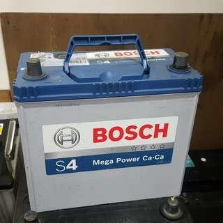 (二手中古電池) BOSCH 65B24LS-SMF免保養汽車電池 數值漂亮,品項優