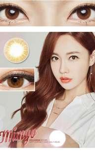 Mimyo Hologram Brown Coloured Contact Lens 14mm